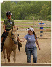 Voluteer to help with Equine Therapy